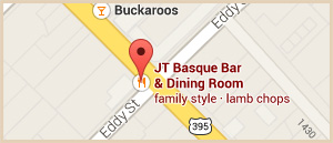 JT Basque Location Copyright C2013 J T Bar Dining Room